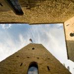 Dettaglio del Castello di Carbonana a seguito degli interventi di restauto